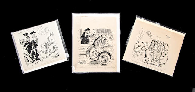 Three original illustrations,