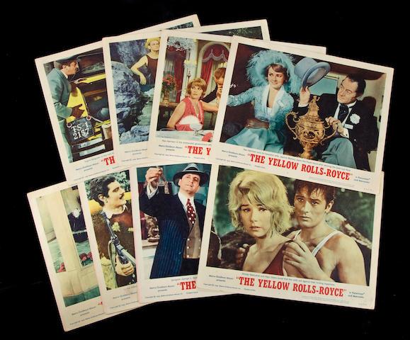 A set of () original movie posters,