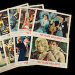 A set of () original movie posters,