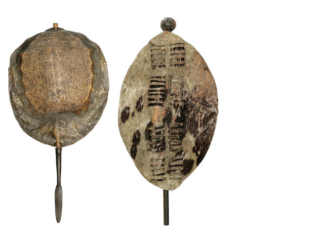 Assegai Spear and Shield, Zulu, South Africa