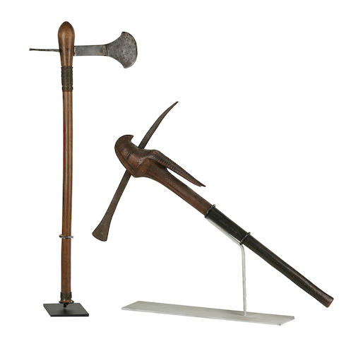 Two Metal Axes, South Africa
