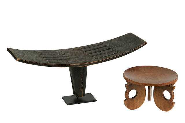 Two African Stools