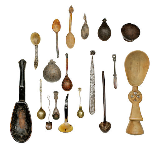 Remarkable Collection of Spoons