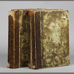CERVANTES, MIGUEL. Don Quixote. London: 1756. 2 vols. 3rd ed.
