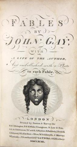 GAY, JOHN. Fables. London: 1793.