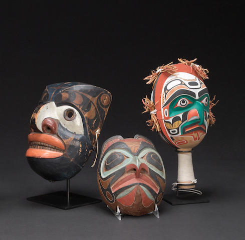 Three Northwest Coast items