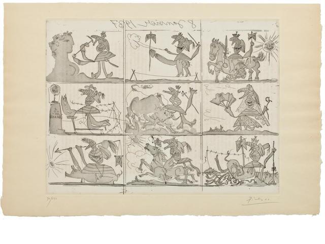 Picasso, Sueno y mentira di Franco (B.297-298)