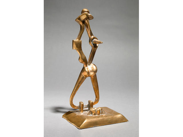 David Hare Untitled (Couple), 1950 Bronze, ed. 5 of 7 14 inches