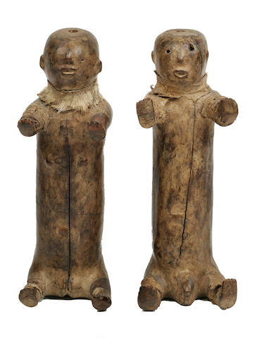 Pair of Hya Figures, South Africa