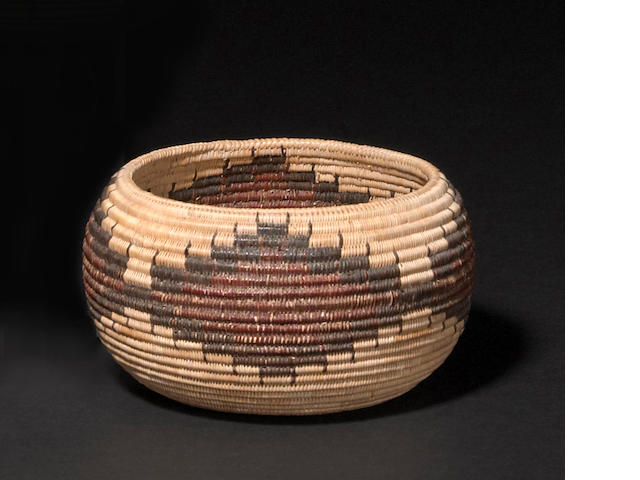 A Mono Lake Paiute basket