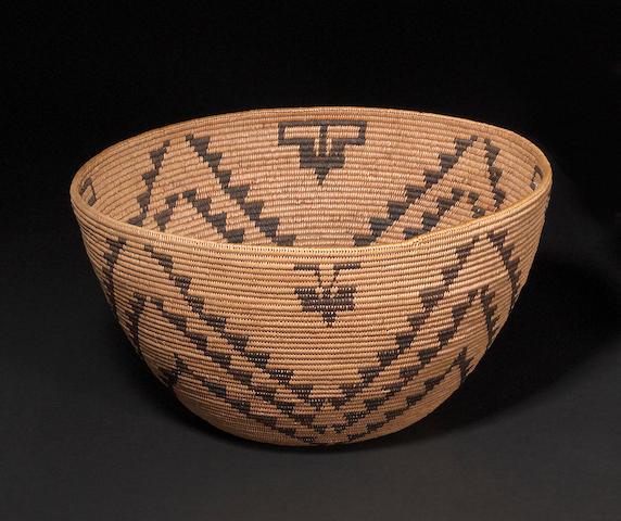A Washo basket