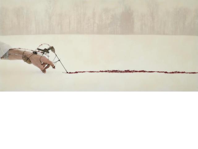 Robert & Shana ParkeHarrison (born 1968, born 1964) The Scribe, 2005 40 x 85in. (101.6 x 215.9cm)