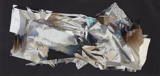 Larry Bell (born 1939) MVD 293, 1991 42 x 87in (106.7 x 221cm)