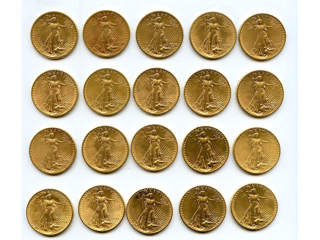 Collection of Saint-Gaudens $20