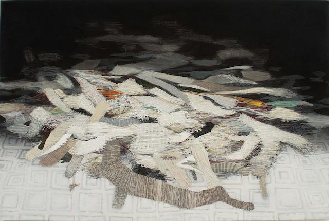 Håvard Homstvedt (born 1976) Remnants, 2006 72 x 108in. (182.9 x 274.3cm)