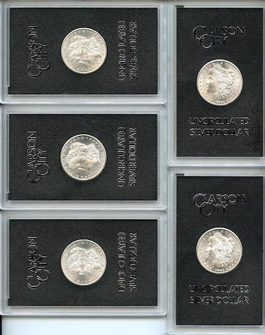 GSA Carson City Morgan Dollars