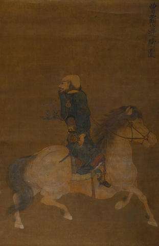 Anonymous (18th/19th century) Horse and Rider