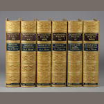 BANCROFT, HUBERT HOWE. Works. 19 vols. Period tree calf.