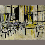 Roger Herman (German, born 1947) Untitled (Classroom), 1987 22 1/4 x 29in (56.5 x 73.7cm)