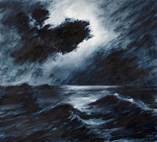 Peter Alexander (American, born 1939) Punta Pozos, 1986 48 x 53in (121.9 x 134.6cm)