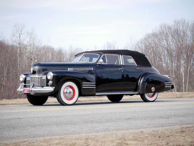 1941 Cadillac Series 62 Convertible Sedan  Chassis no. 8361683