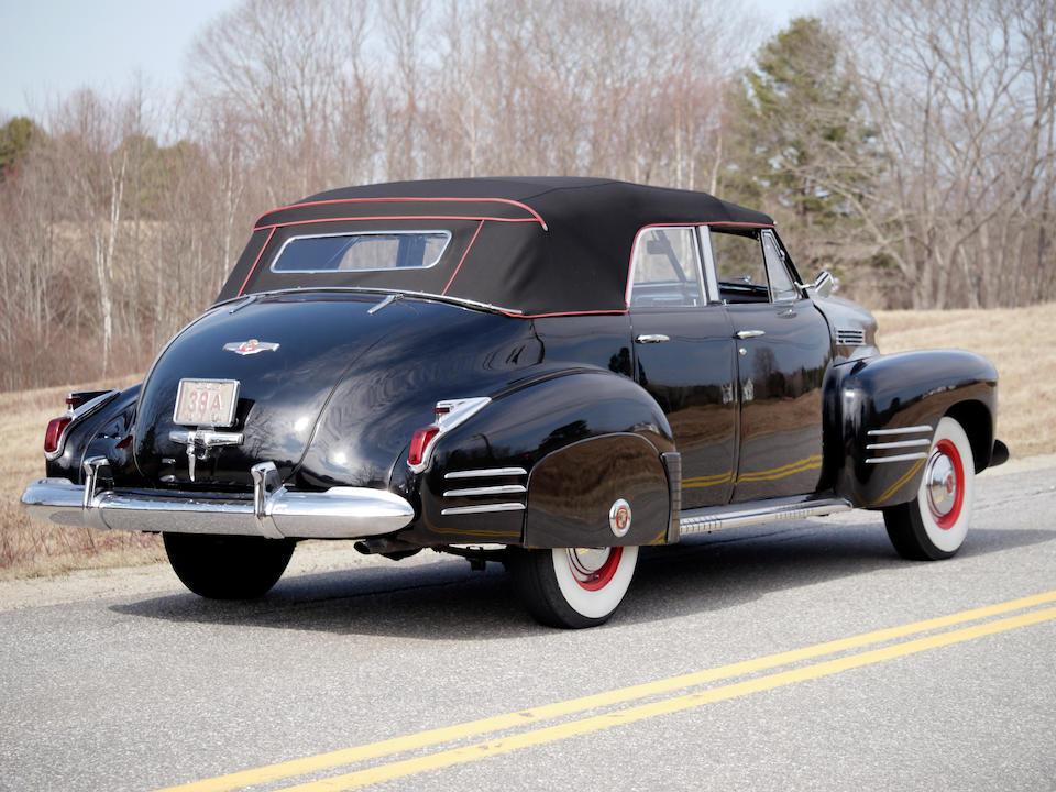 1941 Cadillac Series 62 Convertible Sedan  Chassis no. 8361683