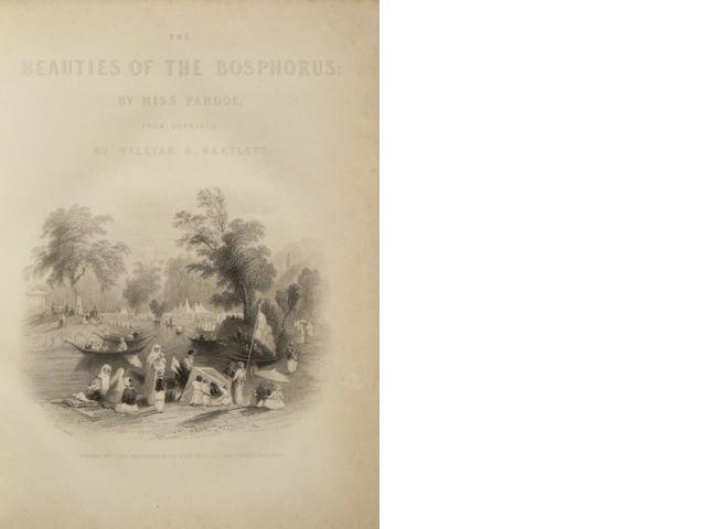 PARDOE, JULIA. 1806-1862. The Beauties of the Bosphorus. London: Virtue, [c.1850].<BR />