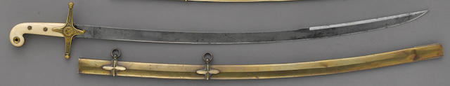 A Victorian Pattern 1831 mameluke-hilted general officer's saber