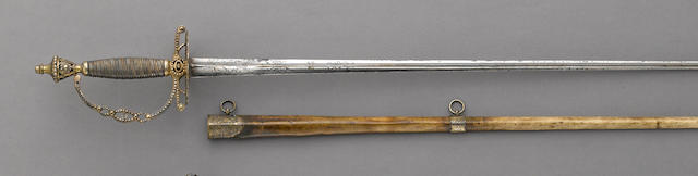 A French Louis Philippe era officer's sword