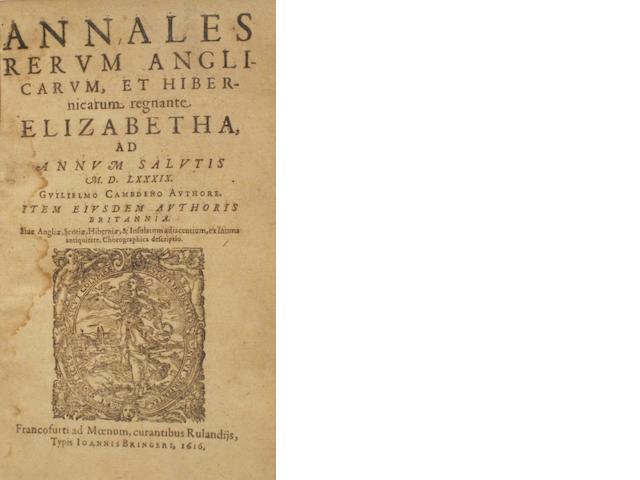 EARLY PRINTING. 1. VALLA, LAURENTIUS. [De linguae latinae.] Viri tam graecae quam latinae linguae doctissimi, elegantarium libri omnes apprime utiles. Cologne: J. Gymnicus, 1534.