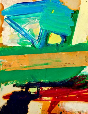 Franz Kline (1910-1962) Composition, 1954 10 7/8 x 8 3/8in. (27.6 x 21.3cm)