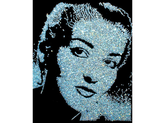Vik  Muniz (born 1961) Maria Callas (from Diamond Divas), 2004 image: 58 3/8 x 46 5/8in. (148.3 x 118.4cm) framed: 61 x 49 1/4in. (154.9 x 125.1cm) This work is number four from an edition of ten, plus four artist's proofs.