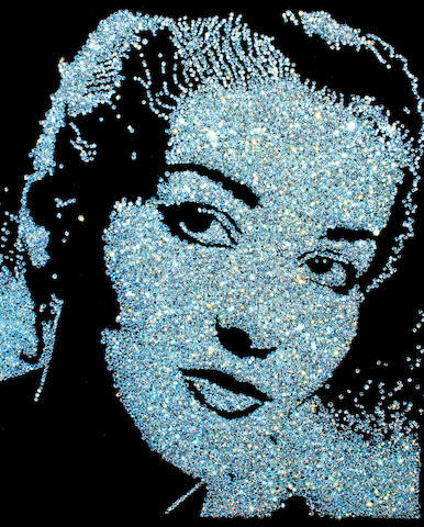 Vik  Muniz (born 1961) Maria Callas (from Diamond Divas), 2004 59 x 48in. (149.9 x 121.9cm) This work is number four from an edition of ten, plus four artist's proofs.