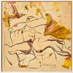 Willem de Kooning (1904-1997) Untitled, circa 1966-68 42 x 42in. (106.7 x 106.7cm)