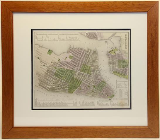 A Tanner Universal map of New York, Philadelphia