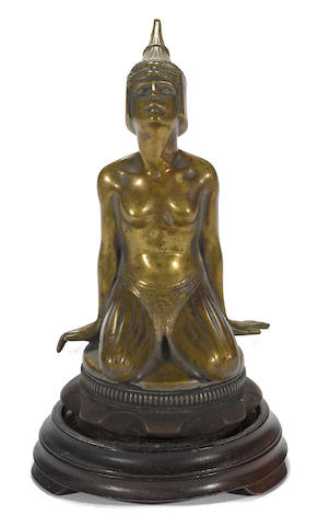 A rare Steyr Egyptian Princess mascot by Hans Sierke,