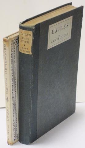 JOYCE, JAMES. 1882-1941. 1. Collected Poems. New York: Black Sun Press, 1936.