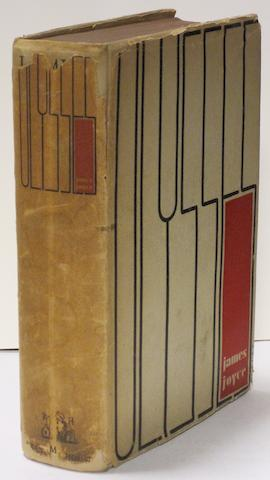 JOYCE, JAMES. 1882-1941. Ulysses. New York: Random House, 1934.