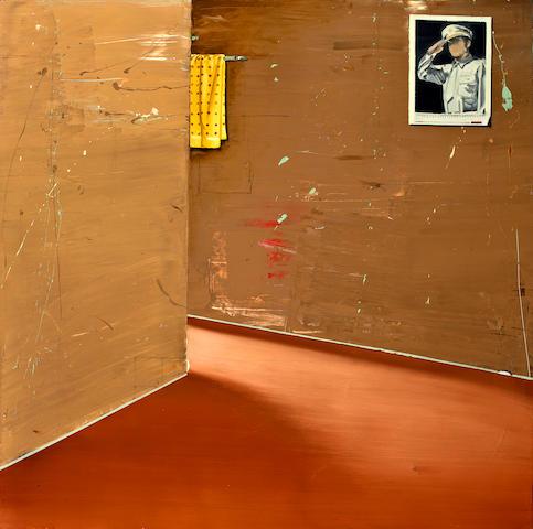 Matthias Weischer (born 1973) Untitled, 2002 31 1/4 x 31 3/8in. (79.4 x 79.7cm)