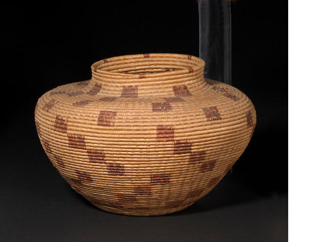 A Yokut bottleneck basket