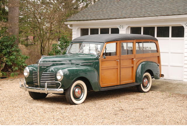 1940 Plymouth Station Wagon  Chassis no. 11060816