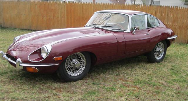 1969 Jaguar XKE Coupe  Chassis no. 1R25011