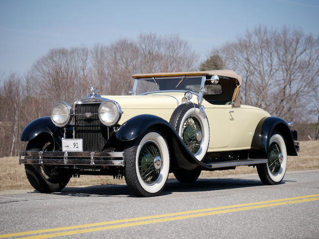 1929 Stutz Model M Roadster  Chassis no. 31276