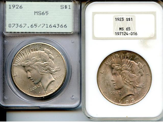 Peace Dollars (2)