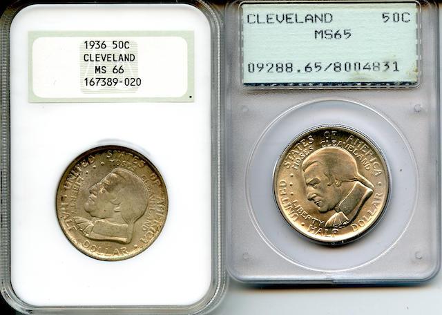 1936 Cleveland 50C MS66 NGC