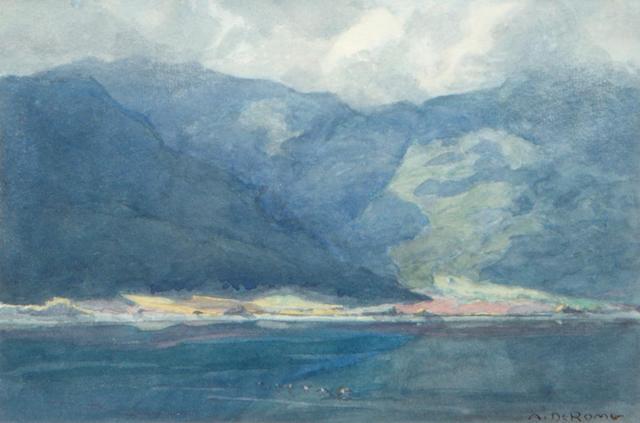 Albert DeRome, Lake Elsinore