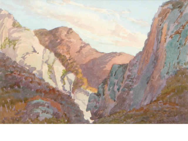 Albert DeRome, Gaviota Pass