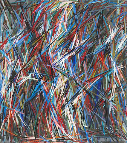 Charles A. Arnoldi (American, born 1946) Altair, 1978 84 x 74in (213.4 x 188cm)