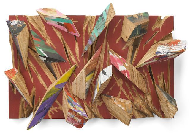 Charles A. Arnoldi (born 1946) Untitled, 1986 24 x 34 1/2 x 6in (61 x 87.6 x 15.2cm)