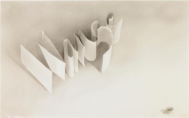 Edward Ruscha (born 1937) Wanze, 1967 14 1/2 x 22 1/2in (36.8 x 57.1 cm)
